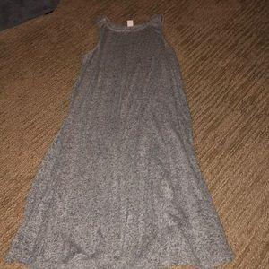 Grey swing dress